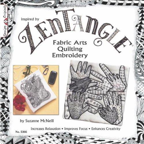 Zentangle fabric arts « art fun cheap